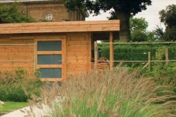 Annexe de jardin en bois