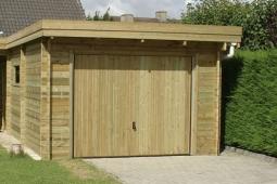 Garage bois  par Abridis