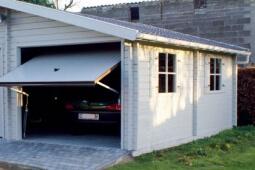Garage en bois 2 voitures
