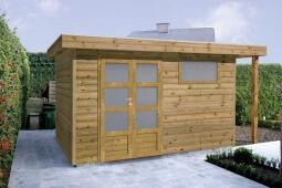 Projet d'abri de jardin bois