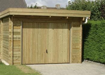 Garage bois Gardival par Abridis